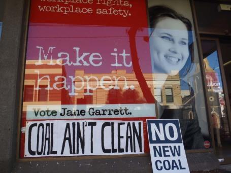 Coal ain't clean