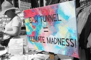 East West Tunnel = Climate Madness