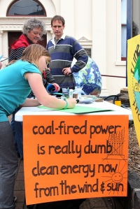 Earth Relay for Climate Action - Brunswick