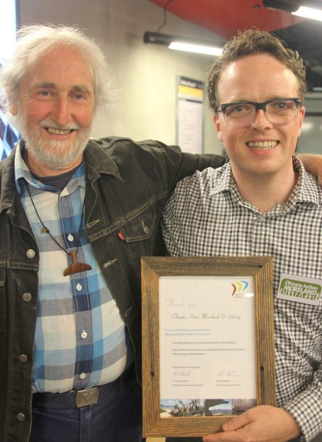 20141029-CAM-at-envirovic-awards-Trevor-Michael