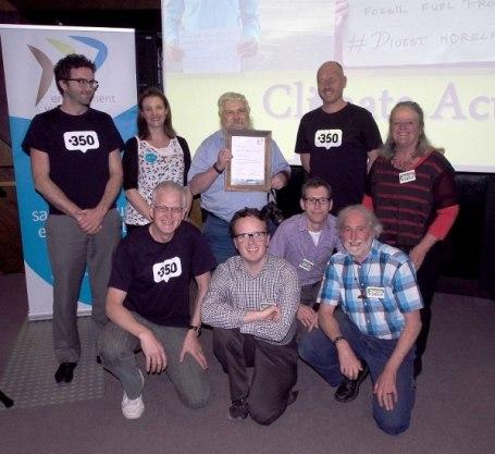Environment Victoria award