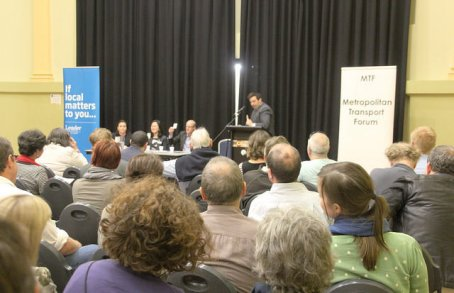 Moreland Transport Forum September 2014 had a full crowd