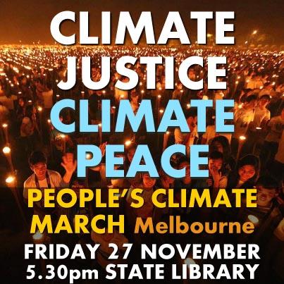 CLIMATE JUSTICE CLIMATE PEACE