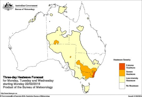 BOM Heatwave prediction service