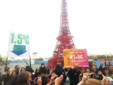 Civil Society -supports 1o5C target at COP21