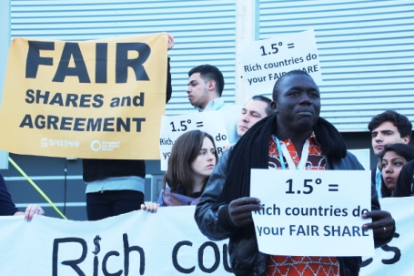 Rich countries do your fair share: Civil society at COP21