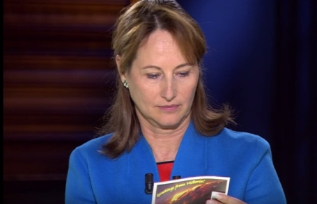 Postcard from Hazelwood to France Segolene Royal