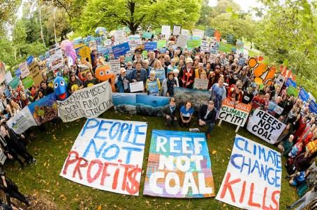 Reef not Coal Stop Adani protest