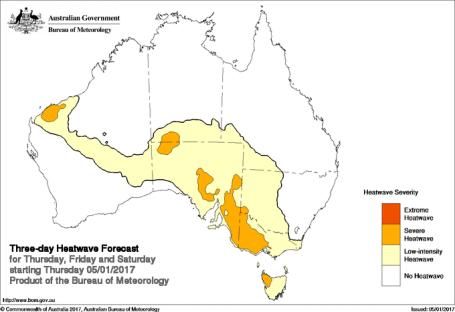 SE Australian Heatwave