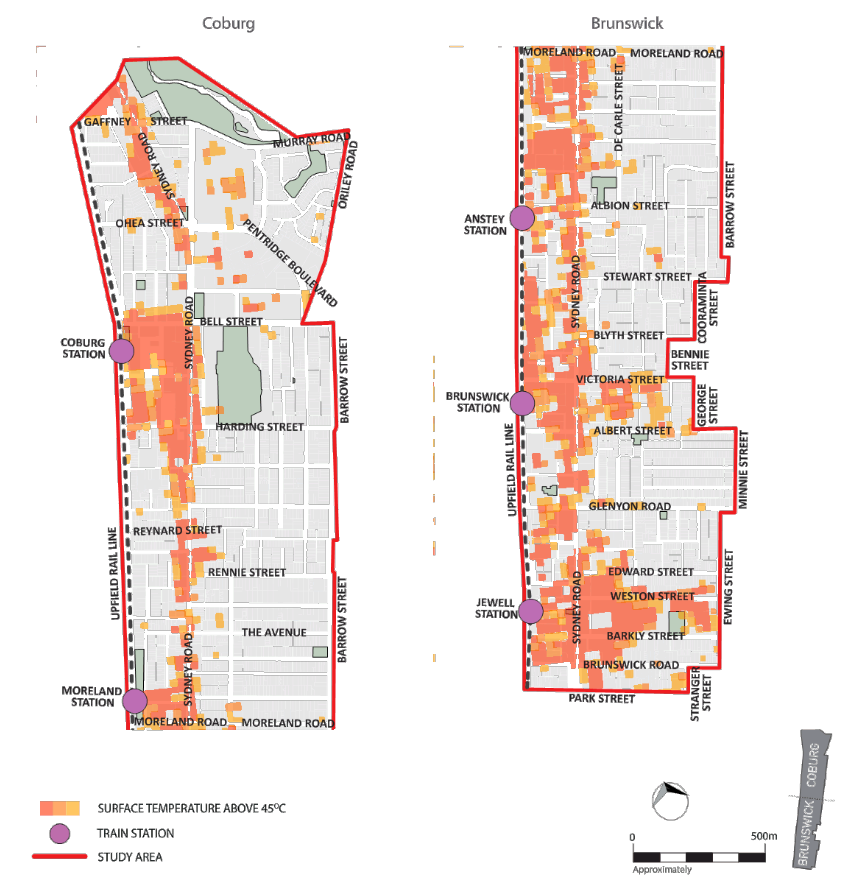 Urban heat island   Climate Action Moreland: people in