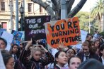 You're burning our future, #climatestrike