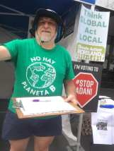 Stop Adani petition to Moreland Council - Sydney Road Street Party 2020